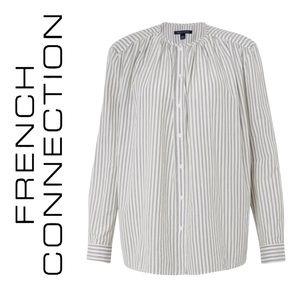 French Connection Clarisse Lawn Stripe Women Shirt